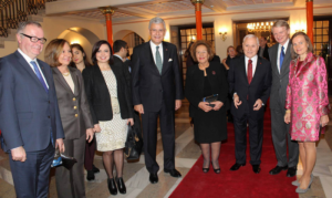 Reception for EU presidency in Ankara Opera