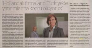 S4U Managing Director Semiha Unal Interview published in newspaper 'Dünya Gazetesi'